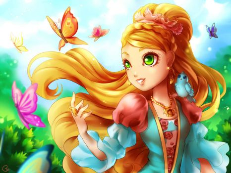 ASHLYNN ELLA - Ever After High by KagomesArrow77