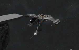 Space Engineers - Starcraft Build: Terran Wraith by Kerian-halcyon
