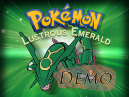 Pokemon Lustrous Emerald Demo by Venom12314