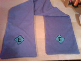 Cutie Mark Scarf of E by EthePony