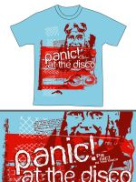 Panic At The Disco shirt by lilesdesign
