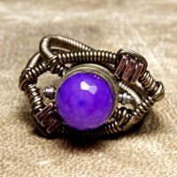 chaceldony steampunk Ring by CatherinetteRings