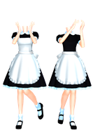 MMD DL Series Maid Set 2 DL by 2234083174