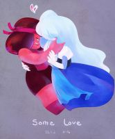 SU_Ruby and Sapphire by FLAFLY