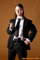 Vincent Vega (Pulp Fiction) Cosplay by me by Groucho91