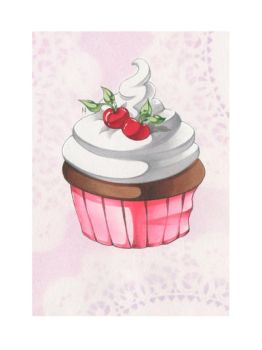 Fancy Cupcake by Nana-Marchae