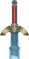 ALTTP Master Sword by BLUEamnesiac