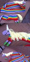Lady Rainicorn Scarf by Katweet