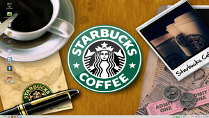 Starbucks Desktop by PharaohAtisLioness