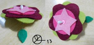Flower Brooch by 402ShionS3