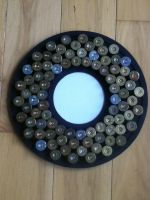 Recycled shotgun shell art picture frame. by SilverThornz