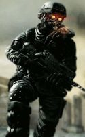 Helghast Soldier by unsane-fox