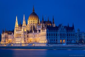 the house of parliament Budapest 1 by BerarAdrian