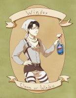 ~Levi Cleaning Heichou~ by VerticalForklift