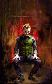 The Joker by WisesnailArt