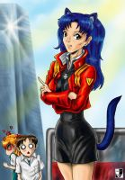 Cat Misato by Lord--Opal