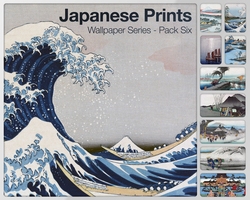 Japanese Prints Pack Six by city17