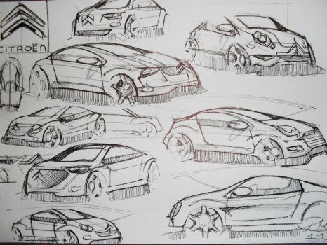 Citroen Afternoon Doodles by Razza10
