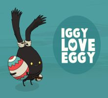 iggy love eggy by skansen