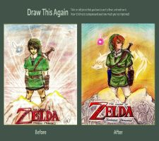 Draw again Link!!! by kandaluvr