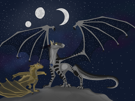 Ravenheart and Sobek request  by Starfire-the-hybrid