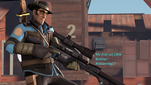 AlsGaming's TF2 oc by WarthogS117