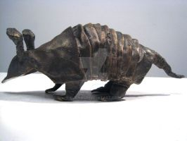 Bronze Armadillo by Kuenai
