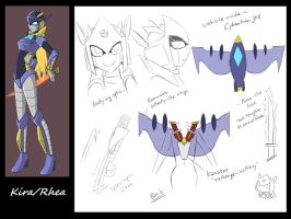 AT: Kira Bot Reference Sheet by Evelynism