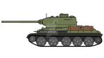 T-34/85. 85 mm's of  communism by COLT731
