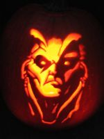 Diablo 2: Lord of Destruction Pumpkin by dragons9rhapsody