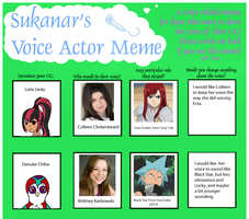 TMNT OC Voice Actor Meme Part 2 by Penguinanthrogirl99