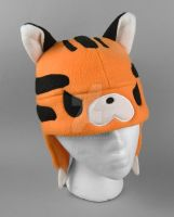 Tiger Hat by SewDesuNe
