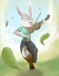 :AT: music throught the wind  by nutty-stardragon