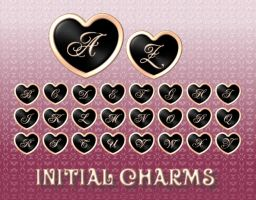 Initial Charms by kyoro3