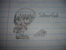 Minecraft - Silverfish Girl by Waddle-Dance