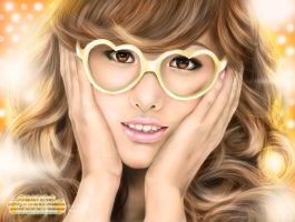 after school nana orange caram by landycakep