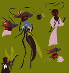 wasp lady by Spoonfayse