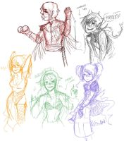 some cdh sketches by b-marble