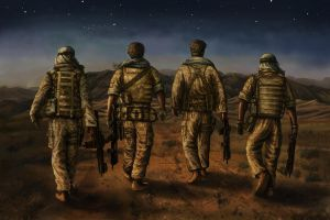Soldiers by curlyhair