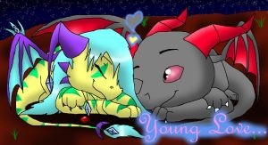 Young Love... by Sahirathedragoness