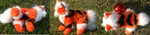 Arcanine plush detail by Skeleion