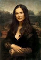 Demi Moore by bdeshayes