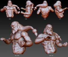 Gouken Sculpt by BaoVu