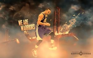 Stephen Curry vexel art 2 by KhaleeqXaman