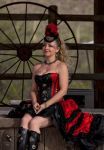 Steampunk Dancer on Stage 203 by PhotosbyRaVen