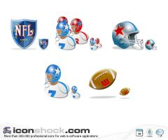 NFL Icons stock by Iconshock