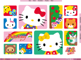 Hello Kitty Desktop by astroasis