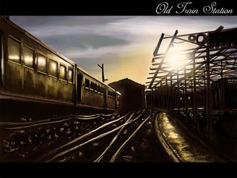 old train station by Androgs