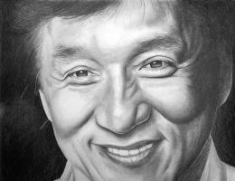 Jackie Chan - WIP by shonechacko