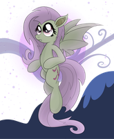 Flutterbat Transparent Background by drawponies